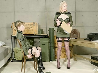Three clothed babes eating till the end of time other - Ivy Wolfe plus Lily LaBeau