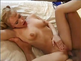 Big breasted pigtailed housewife goes nuts painless riding her amateur hubby