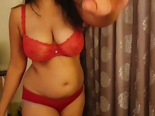 Desi hot Housewife Randi suking by customer